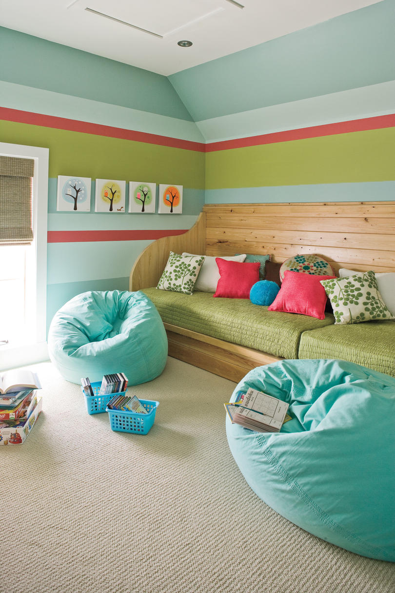 2009 Southern Living Texas Idea House Children's Playroom