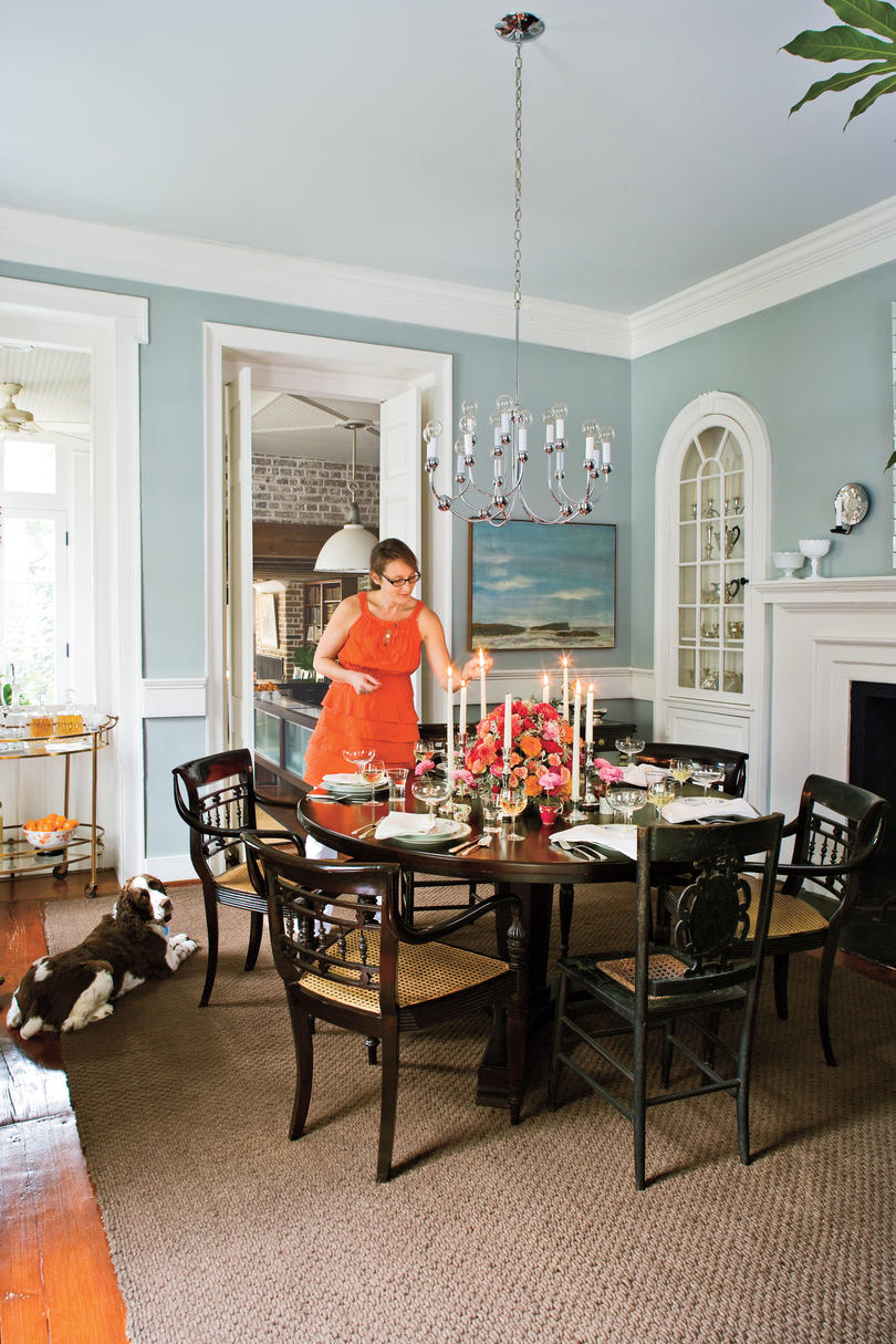 Charleston Home Dining Room - Southern Living