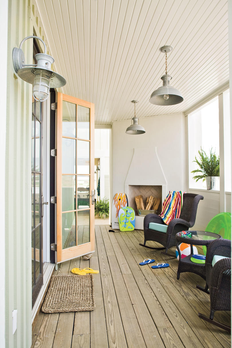 2009 Southern Living Texas Idea House Front Porch