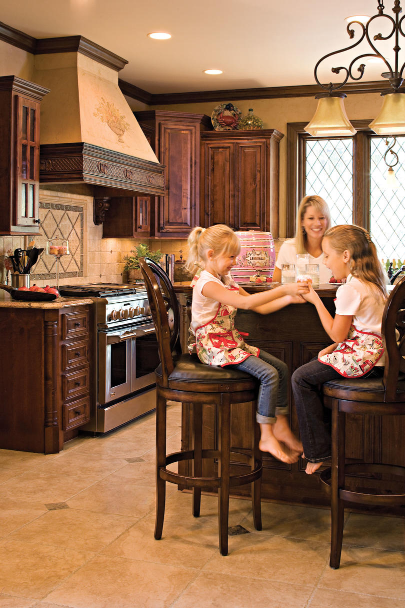 Kitchen with international style southern living for International home decor design