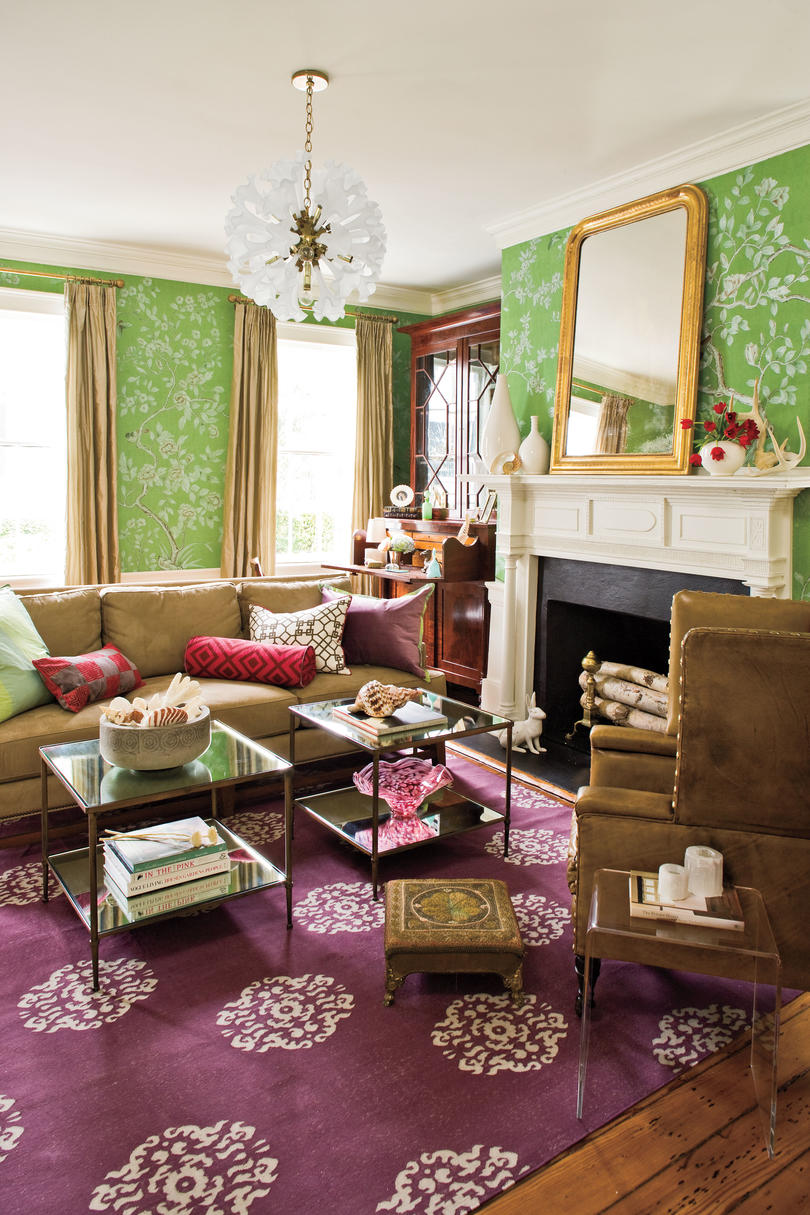 Charleston Home Living Room - Southern Living
