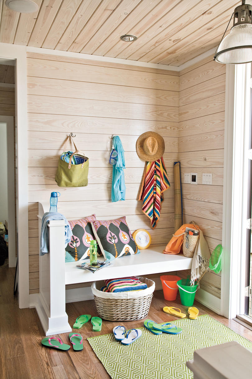 2009 Southern Living Texas Idea House Mudroom
