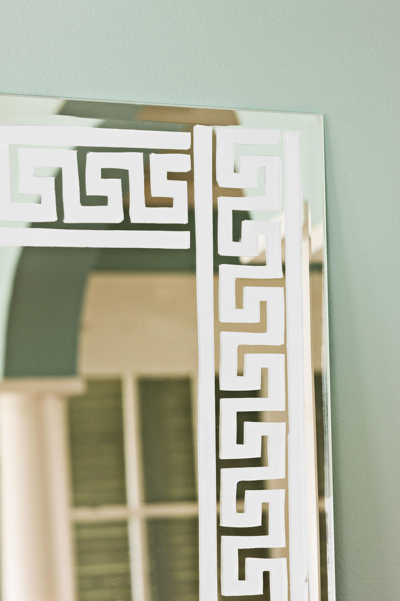 Do-It-Yourself Etched Wall Mirror - Southern Living