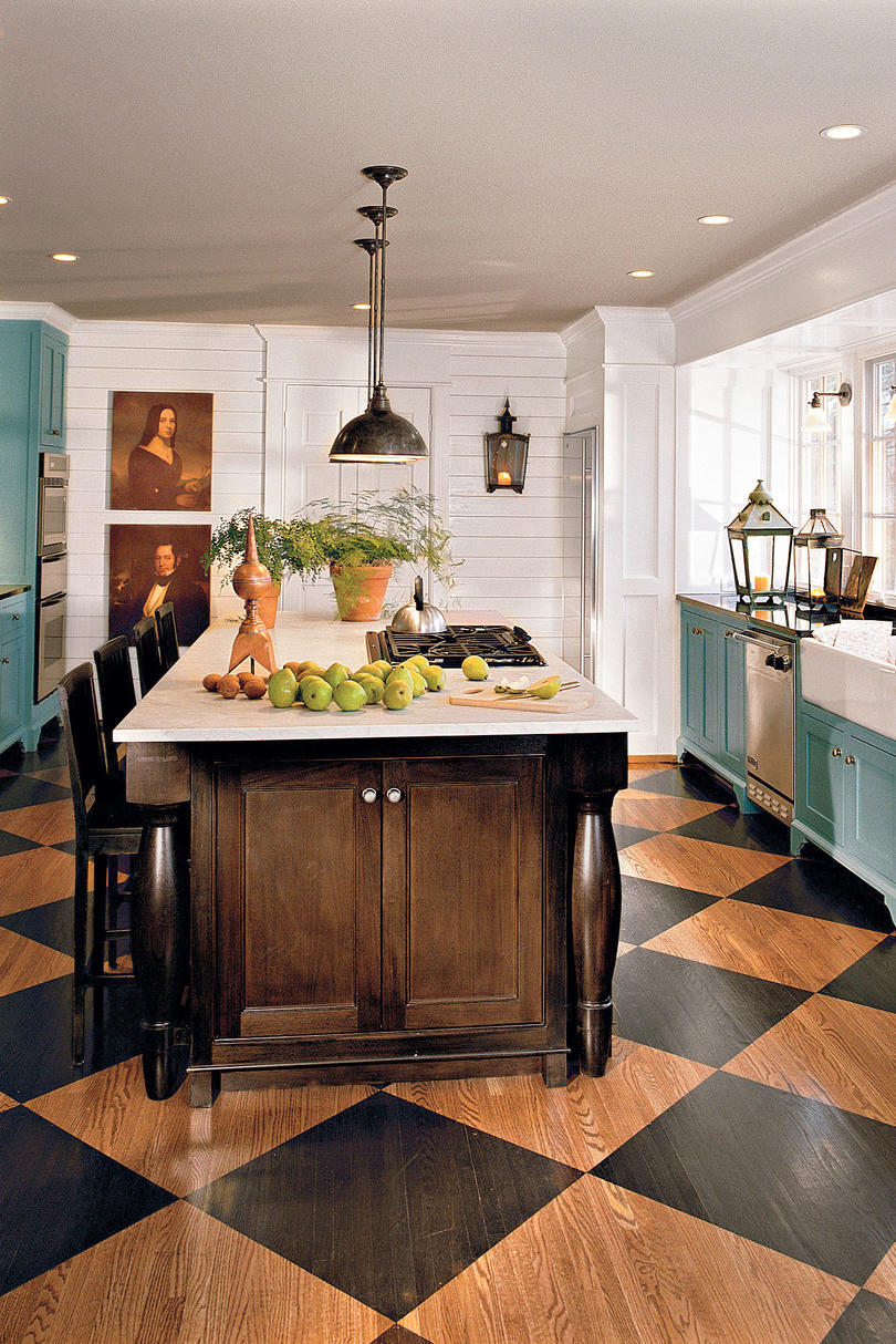 kitchen inspiration southern living accented kitchen