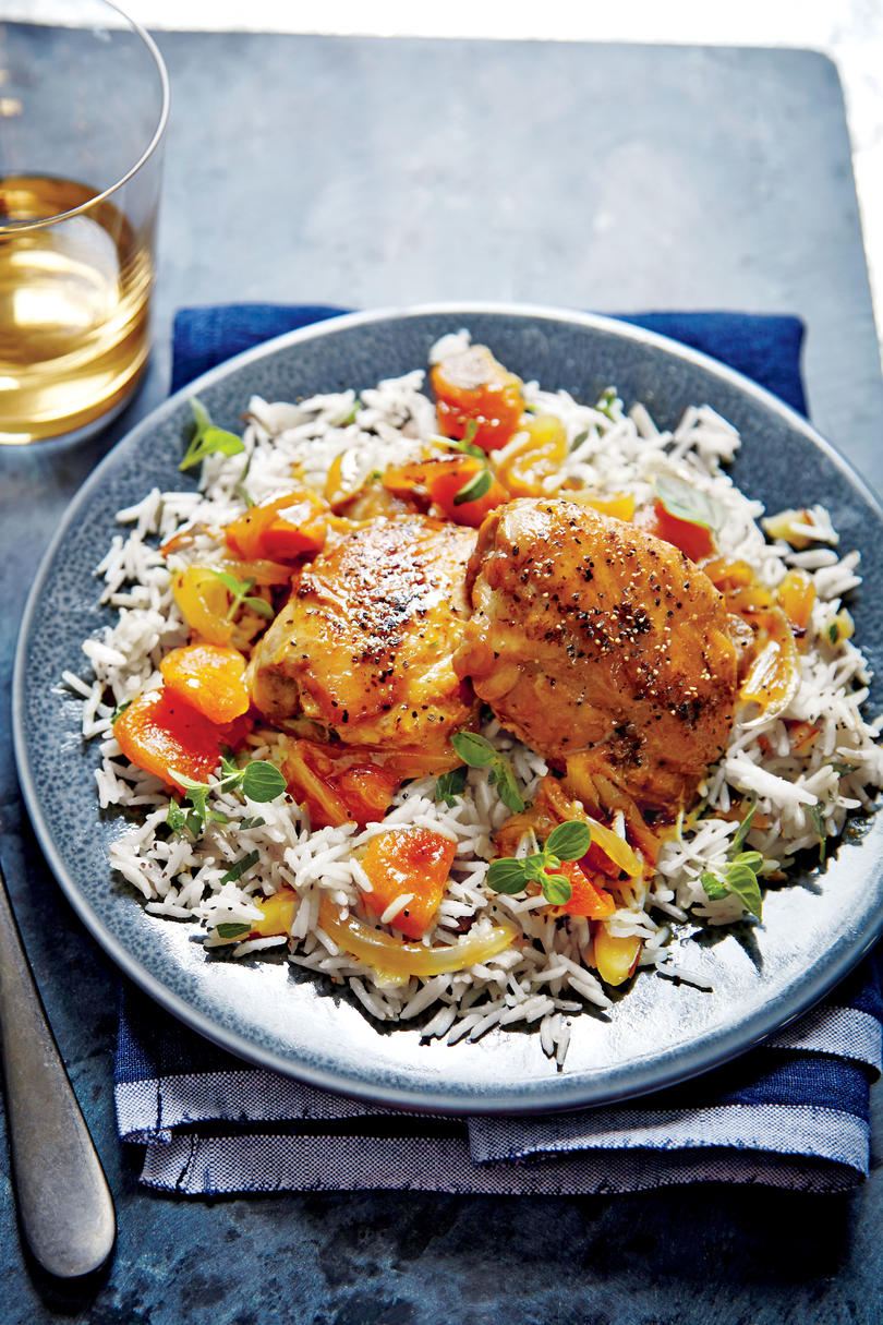 Honey-Apricot-Glazed Chicken