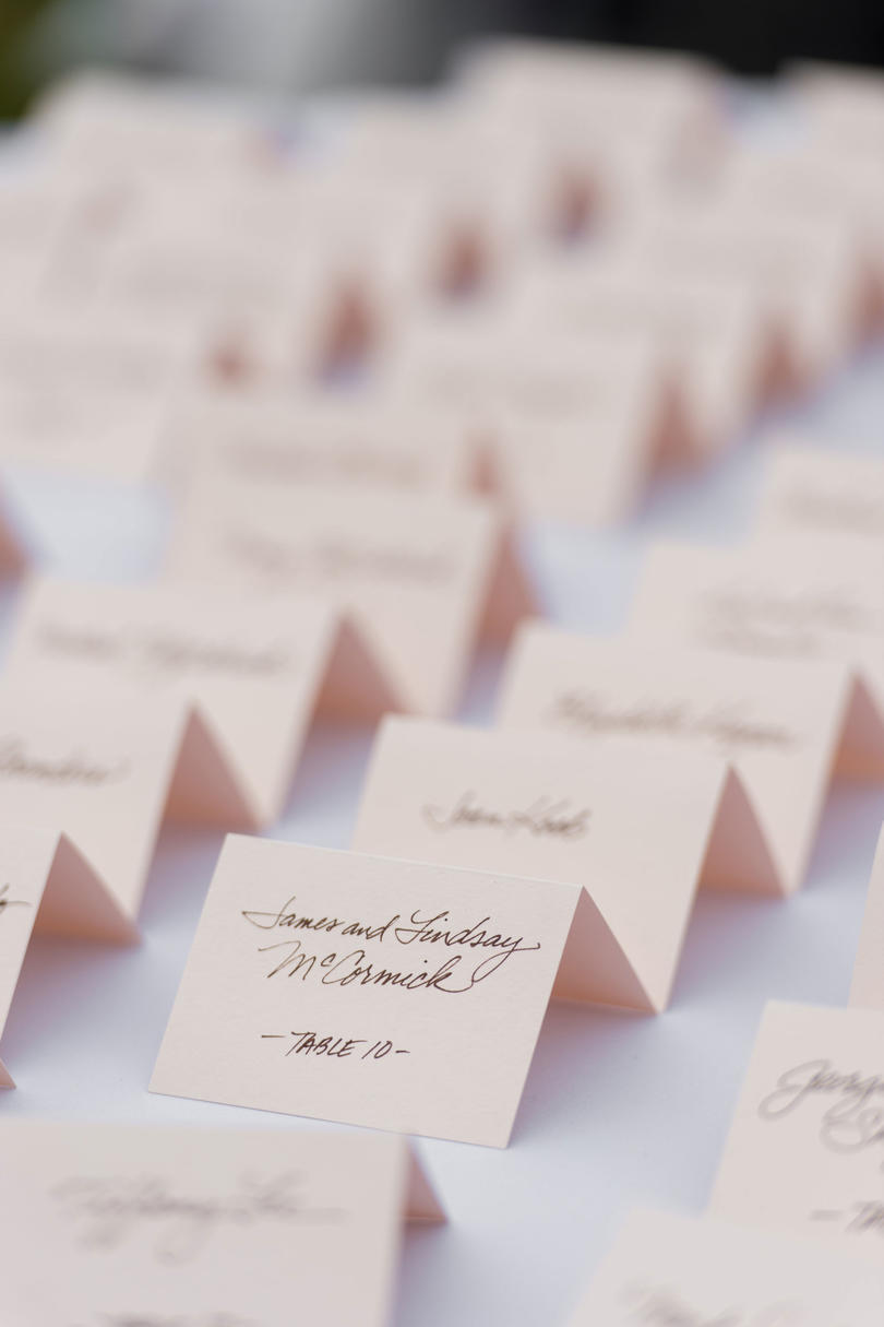The Place Cards
