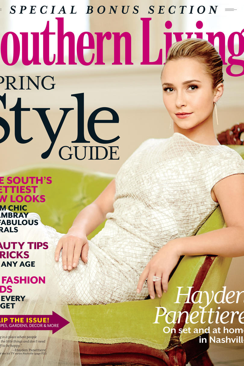Hayden Panettiere's Spring Style Shoot