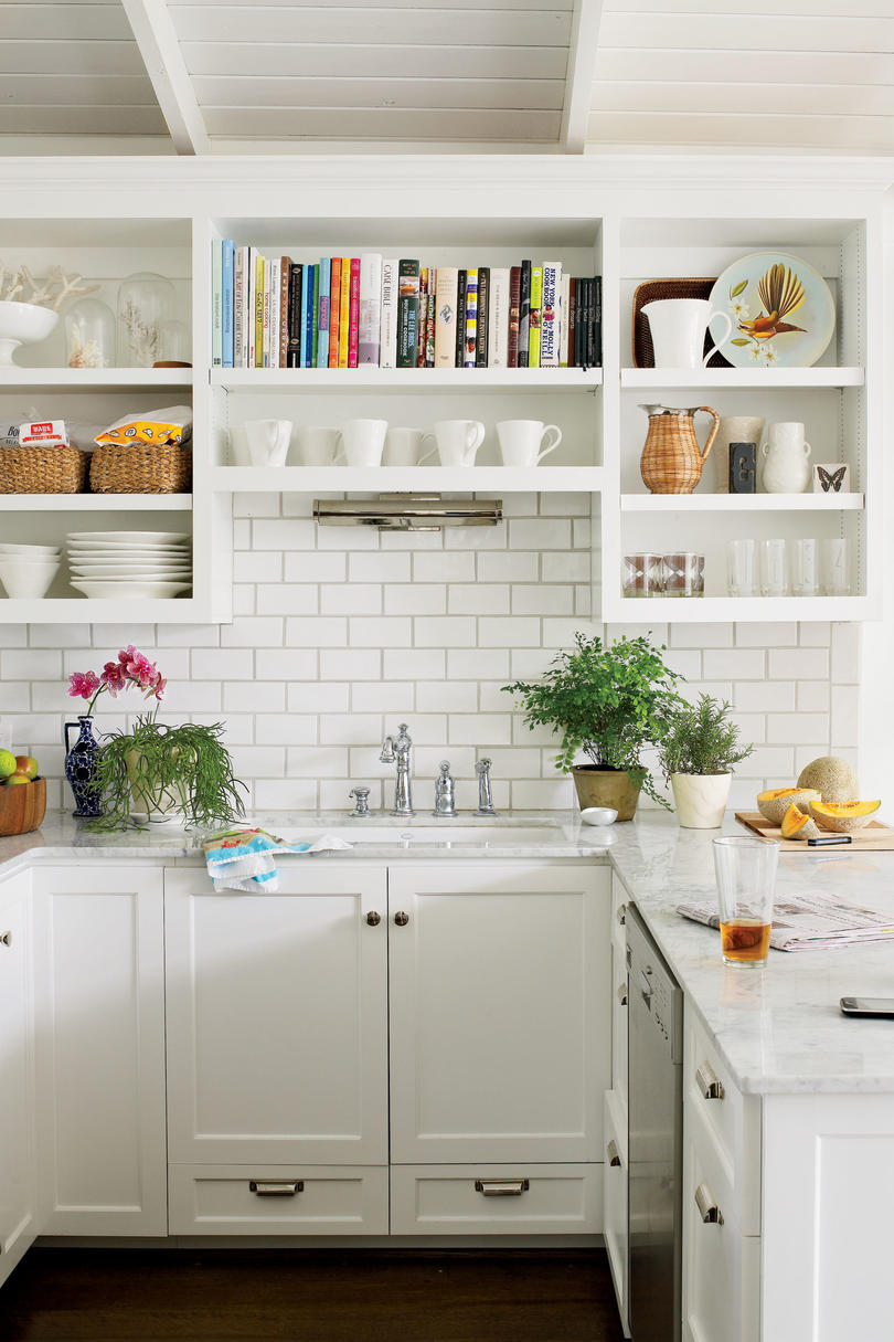 creative kitchen cabinet ideas southern living rh southernliving com pictures of kitchen cabinets with hardware pictures of kitchen cabinets painted