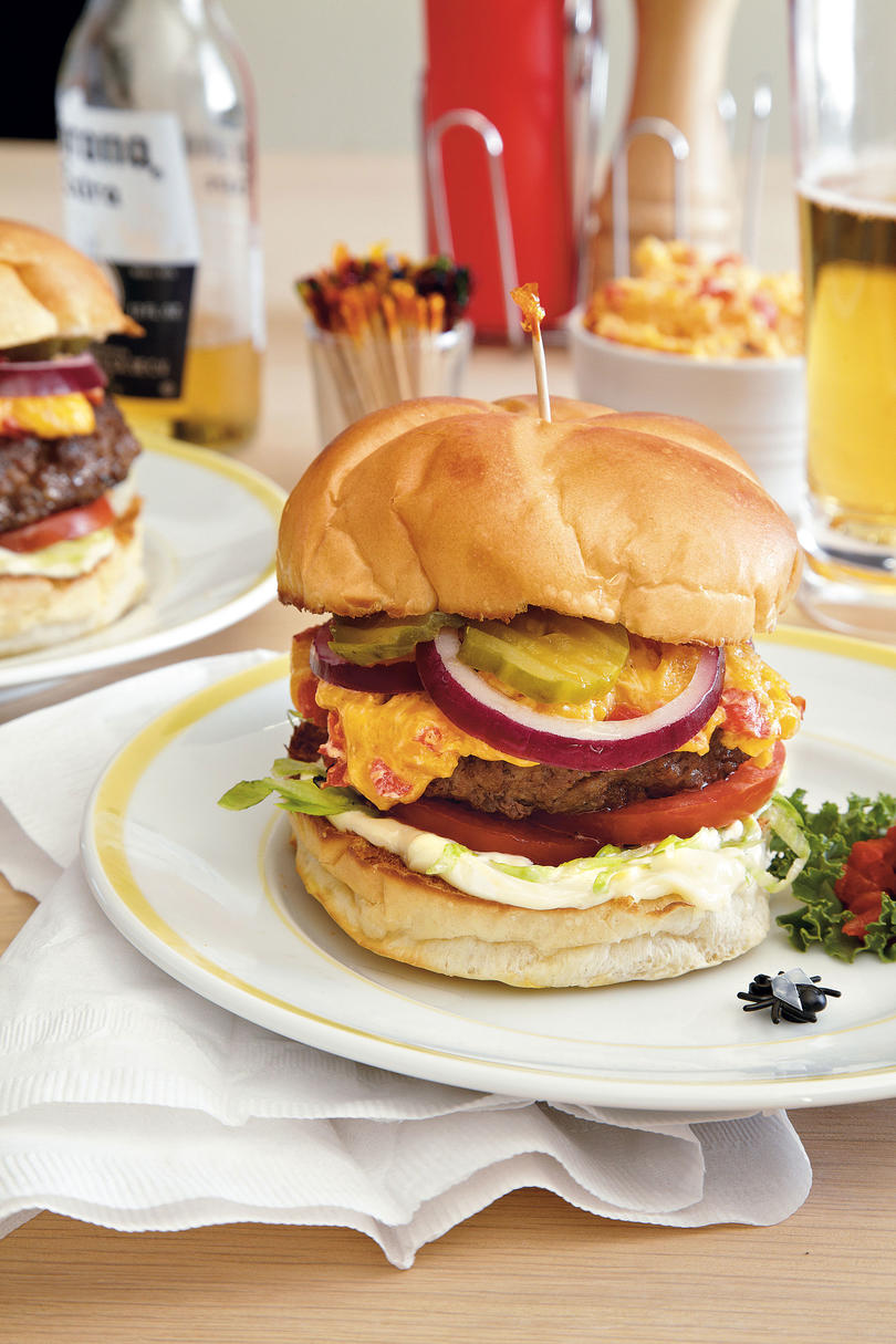 Blow Fly Inn Pimiento Cheese Burgers