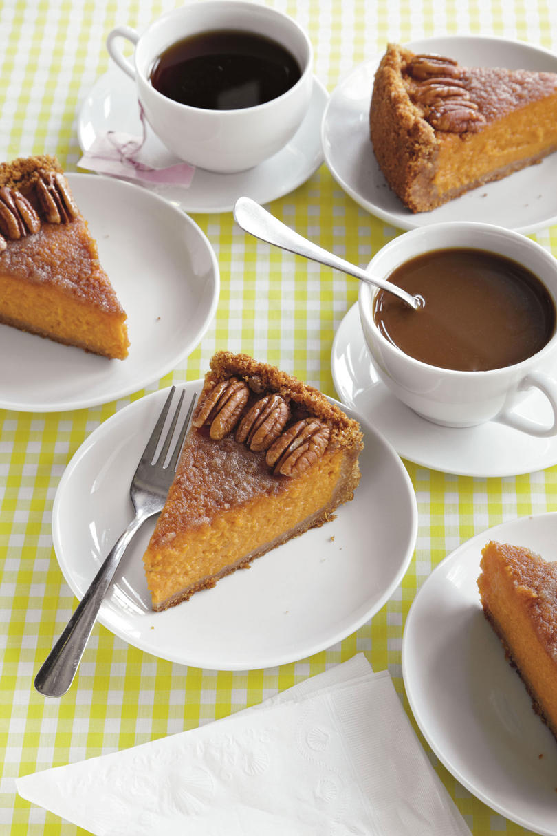 Dish's Vanilla-Bourbon Sweet Potato Pie