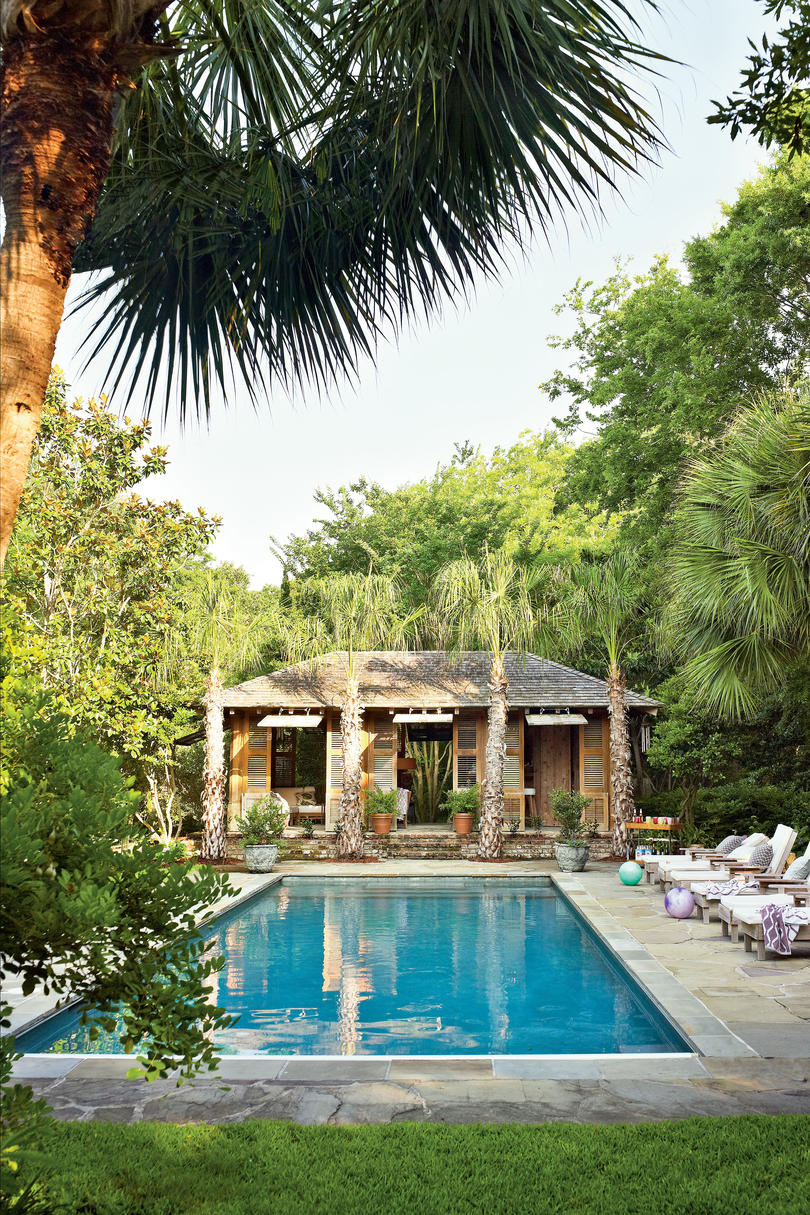 Exotic Tropical Style Pool