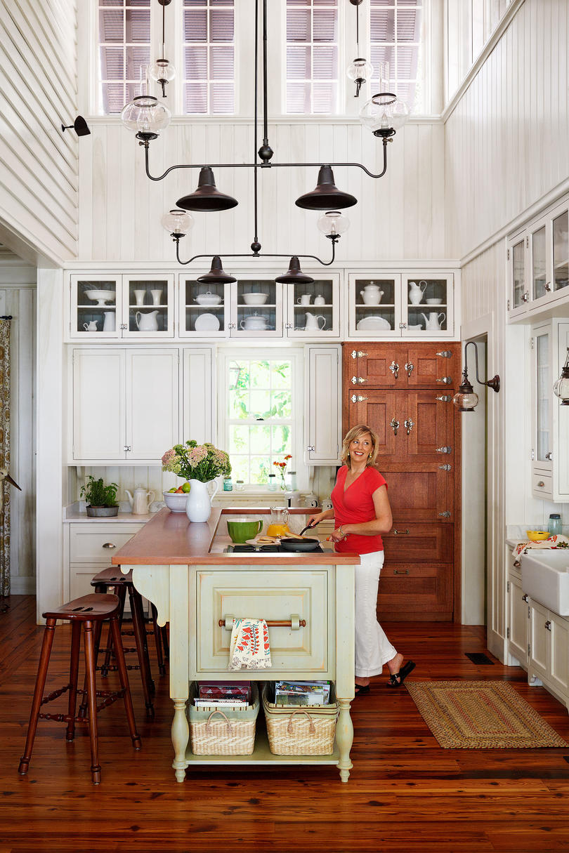 creating a vintage look in a new home southern living don t overlook details