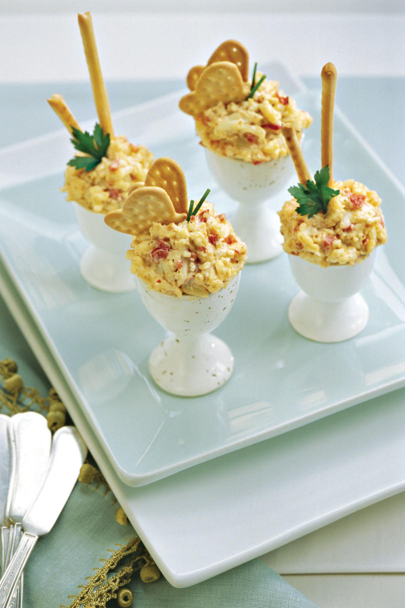 Spicy Roasted Bell Pepper Pimiento Cheese