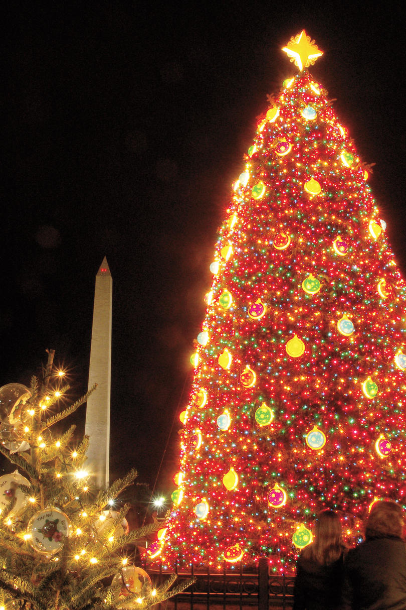 Best Southern Christmas Vacations Southern Living - Visiting The National Christmas Tree