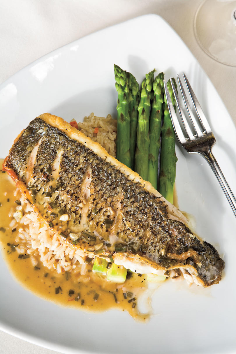 7: The Missouri mountain trout is the best thing on the menu