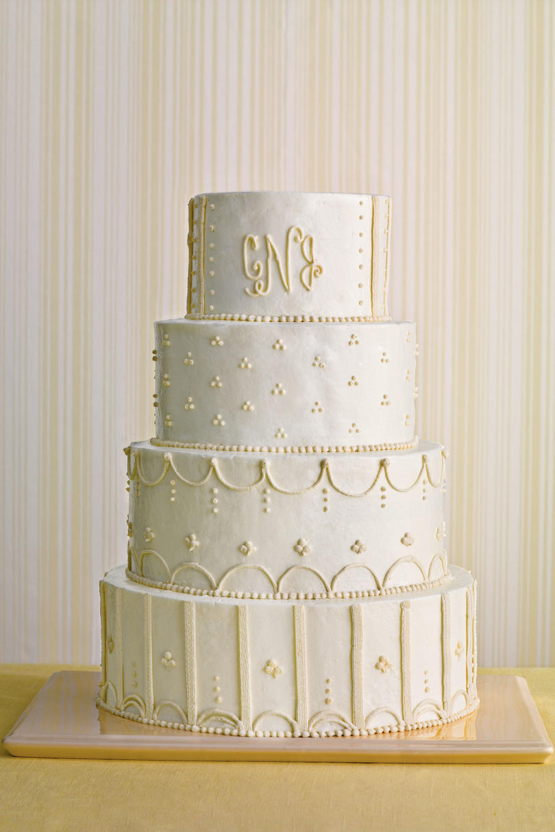 Southern living cameo wedding cake