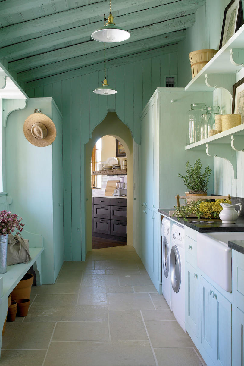 Use Blue In a Small Space