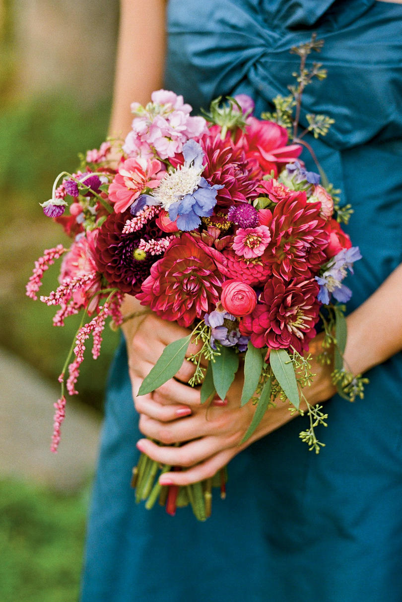 Loose Floral Bouquet