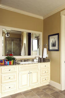 master bath sink area