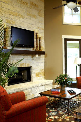 Great Room of the Giveaway Home in Brian, Texas