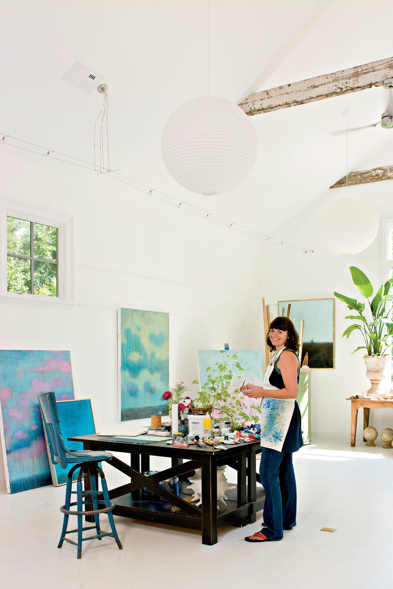 Light & Airy Painting Studio - Southern Living
