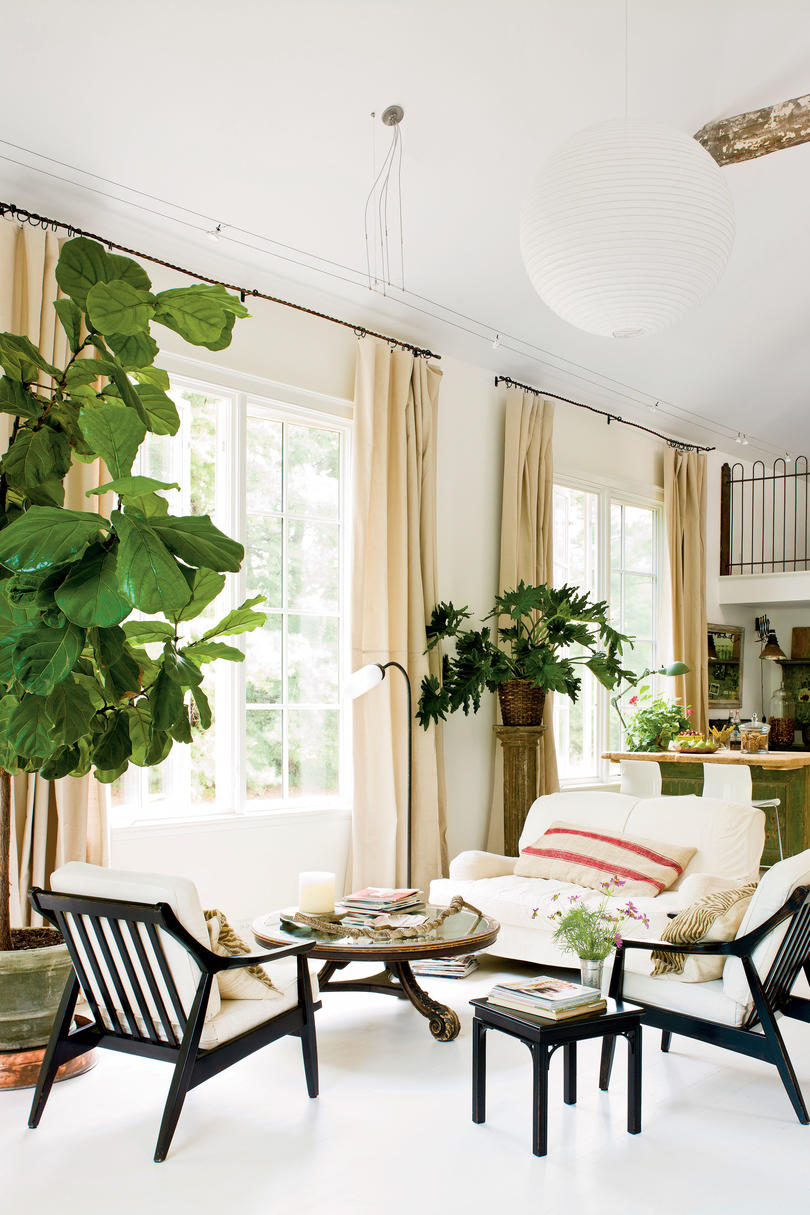 Light amp Airy Painting Studio Southern Living