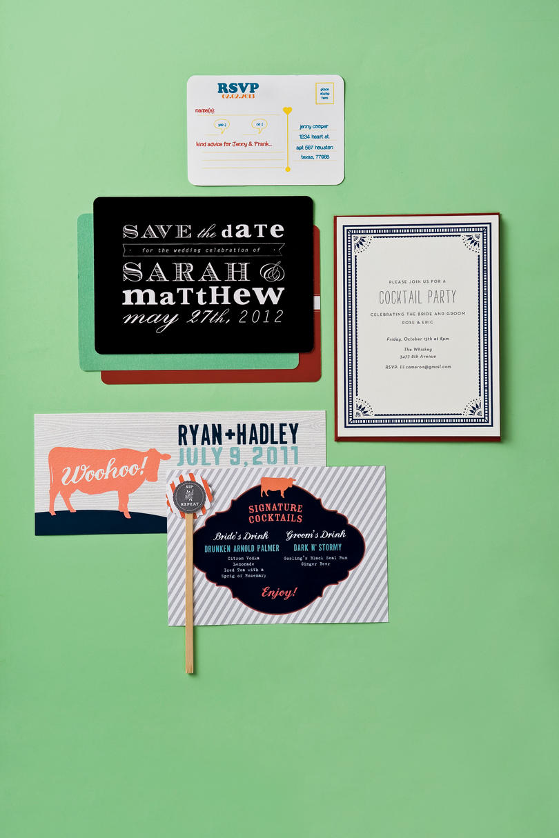 Chic Modern Invitations