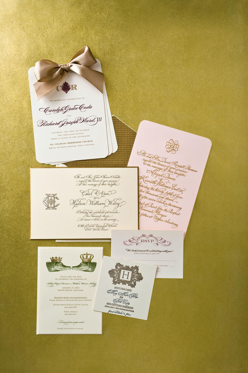 Tasteful and Traditional Invitations