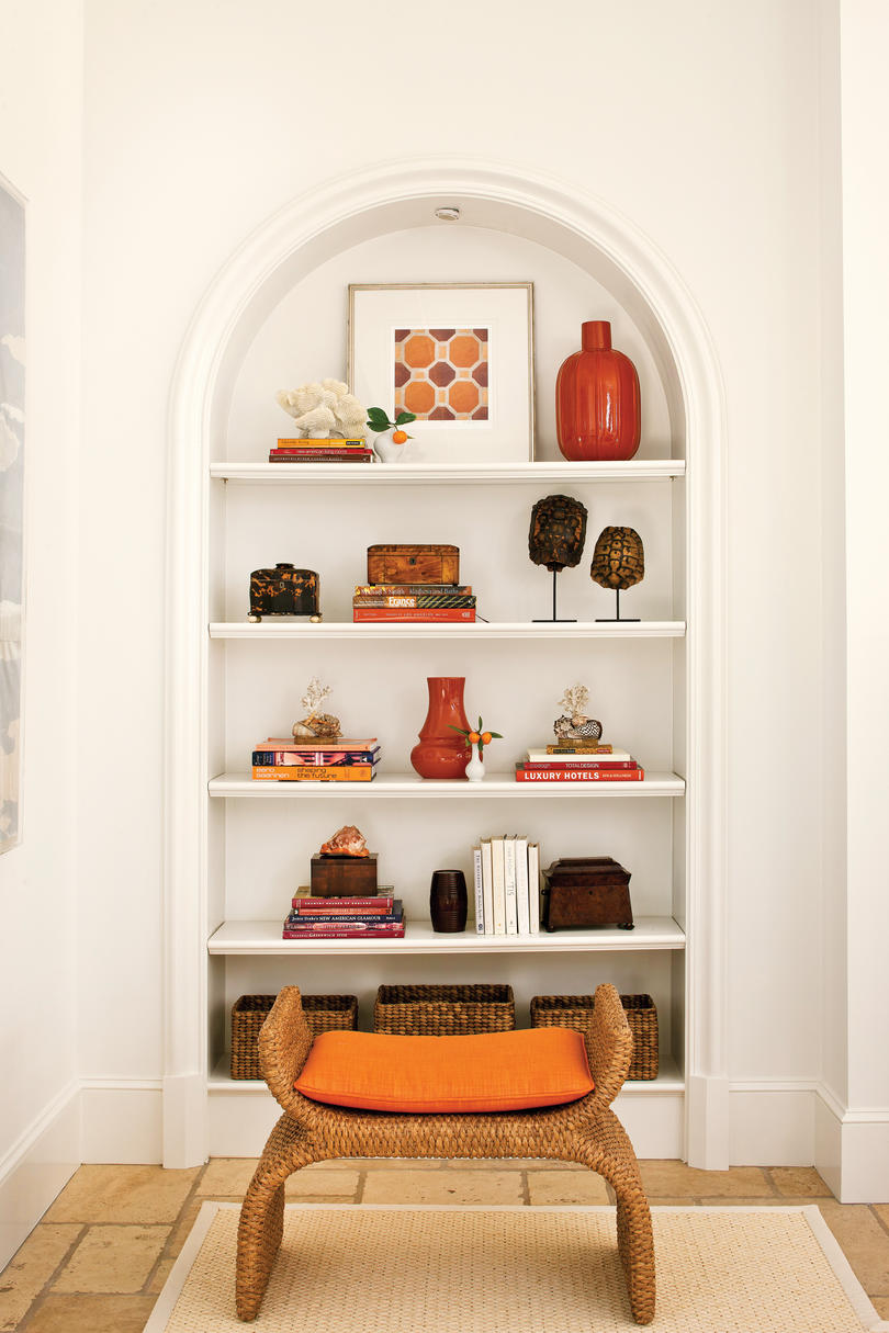 Decorating Living Room Shelves. How to Style Open Shelves To Decorate Any Room  Southern Living