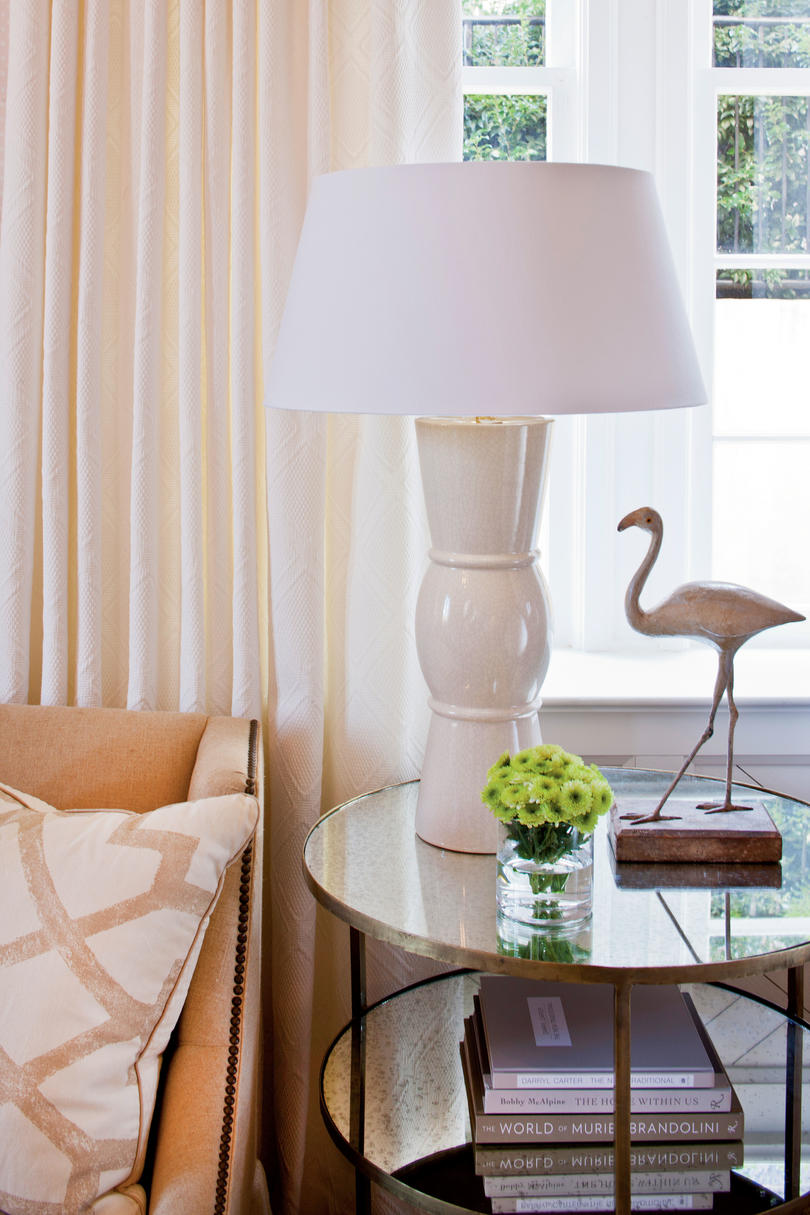 Choose Larger Lamps for End Tables