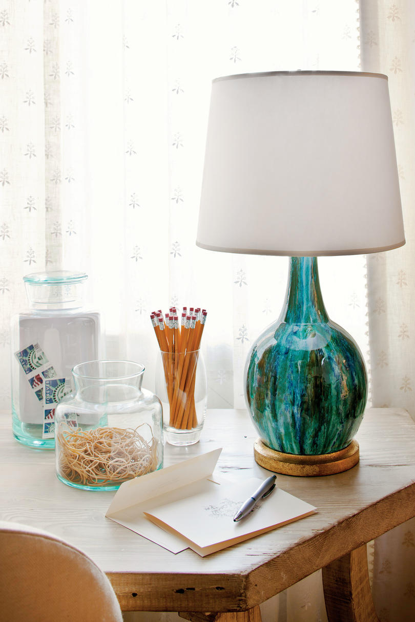 Use Color for Desk Lamps