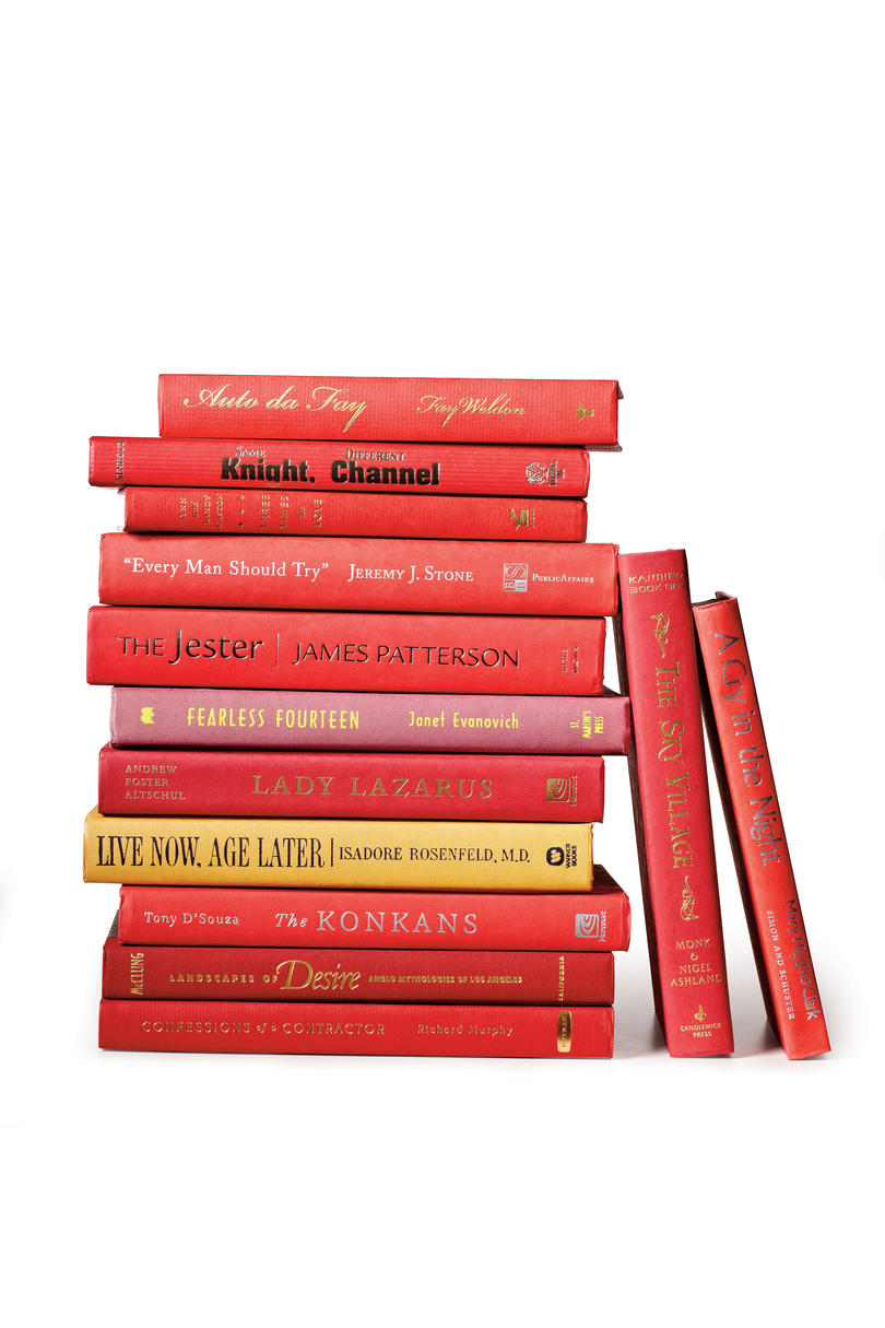 Warm Red Hardbacks