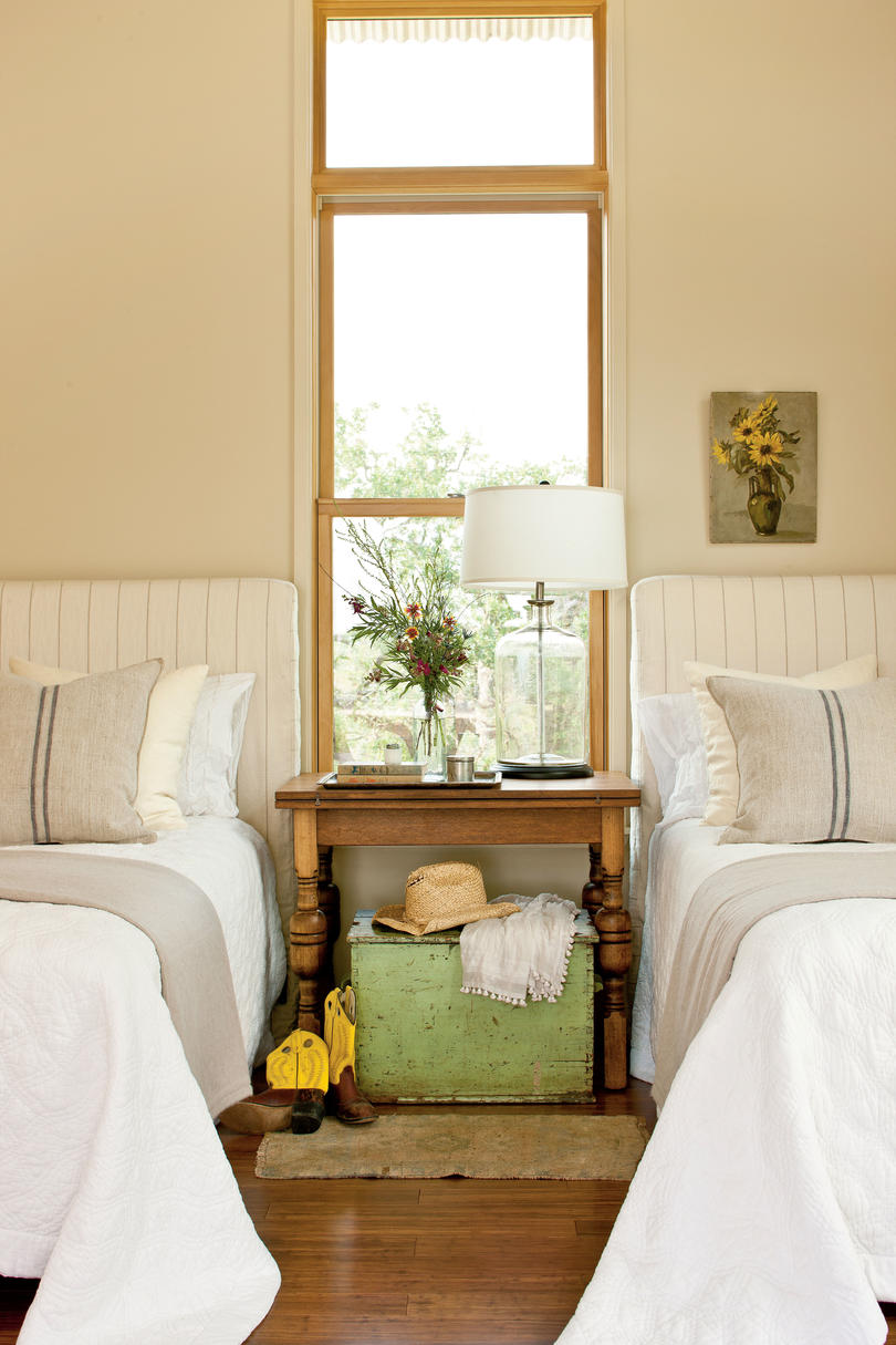 Light Airy Guest Bedroom