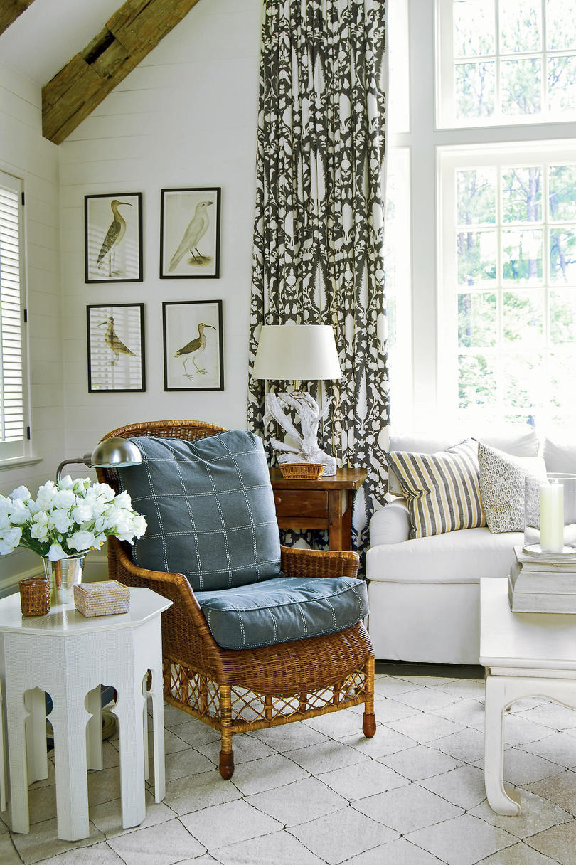 how to decorate any room southern living how to mix and match fabrics