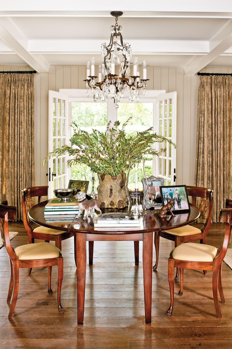 Dazzling dining room before and after makeovers southern - Living room makeovers before and after ...