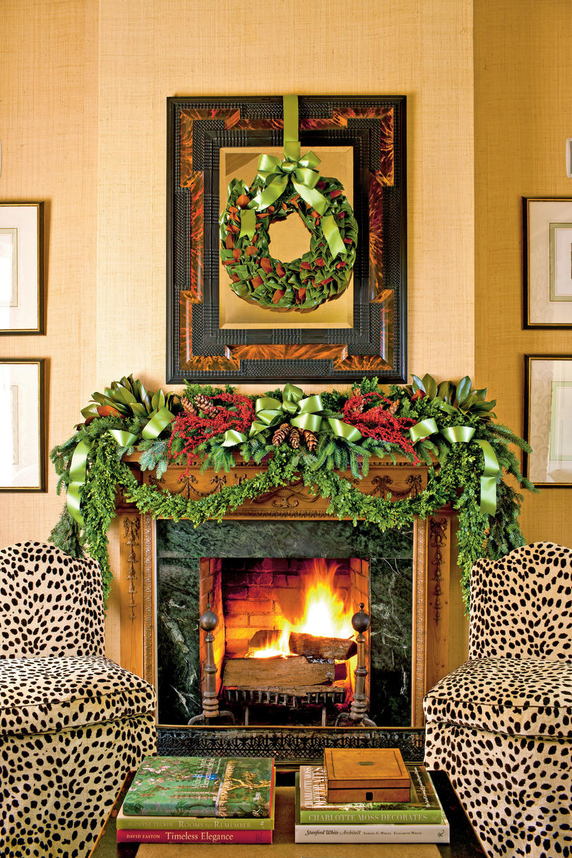 Trim the Fireplace