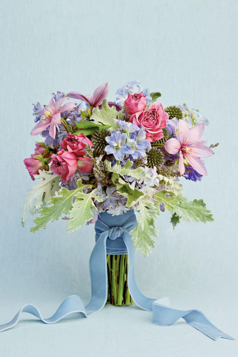 Blue Wedding Flowers Southern Living