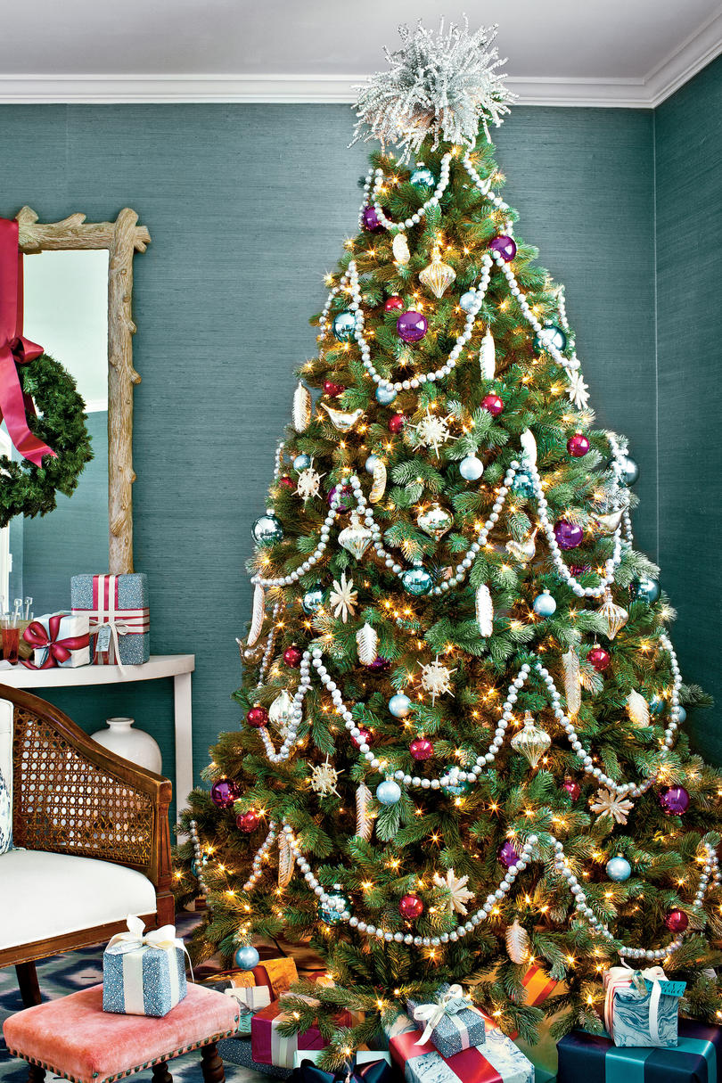 Blue christmas trees decorating ideas - Blue Christmas Christmas Tree Decorations