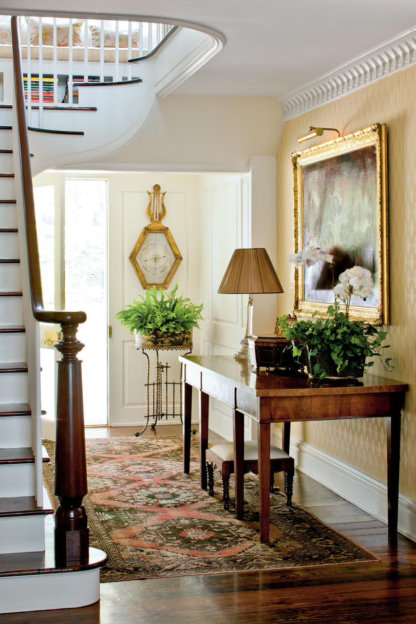 southern home interiors fabulous foyer decorating ideas southern living 8586