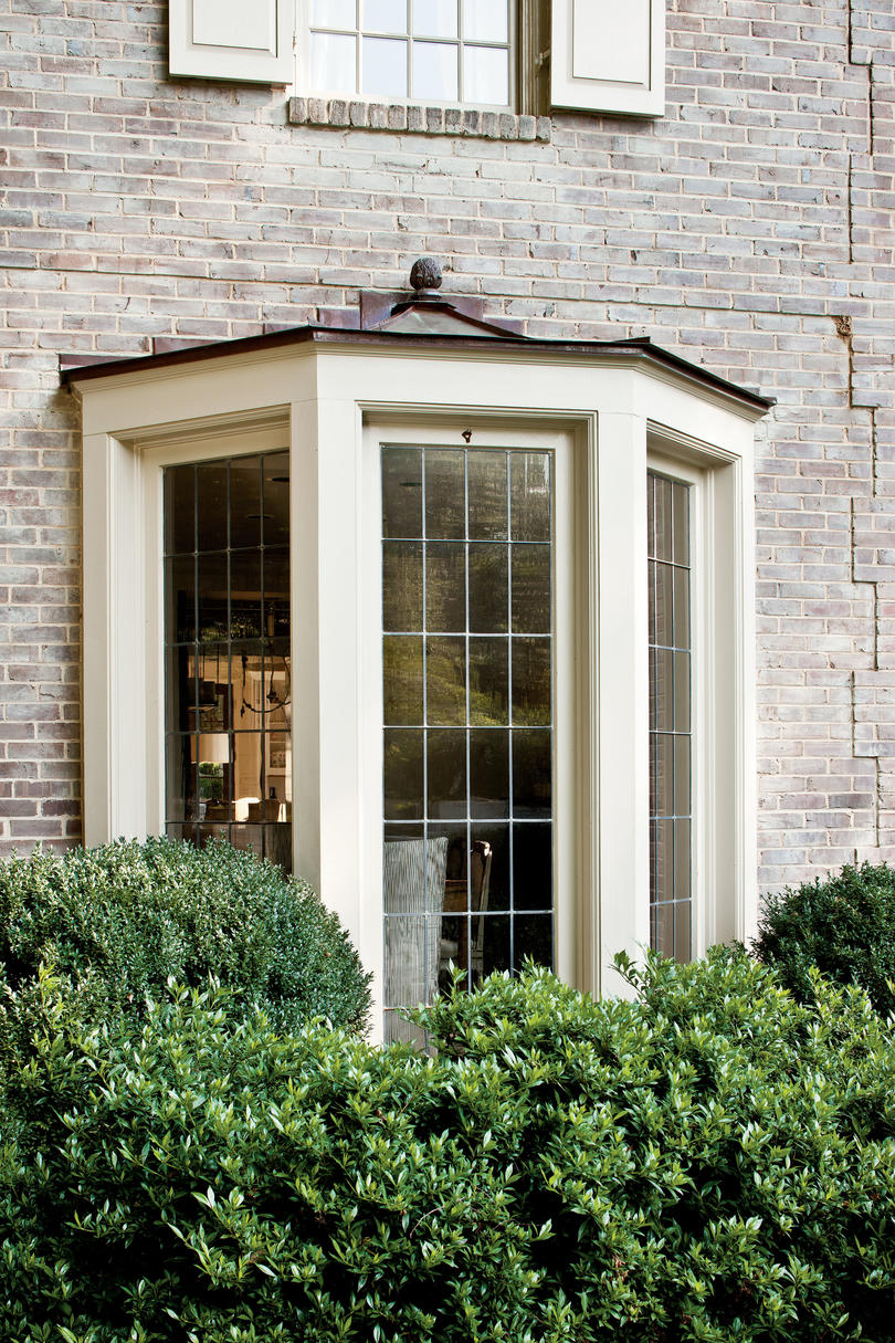 A charming restoration southern living for Modern window styles