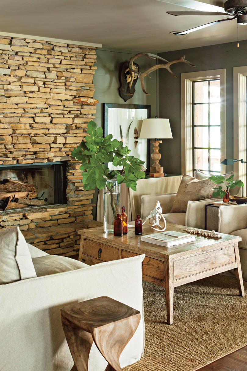 Lake House Fireplace Part 94