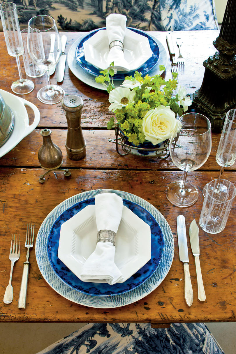 Combine Time Periods & How To Set a Stunning Table - Southern Living