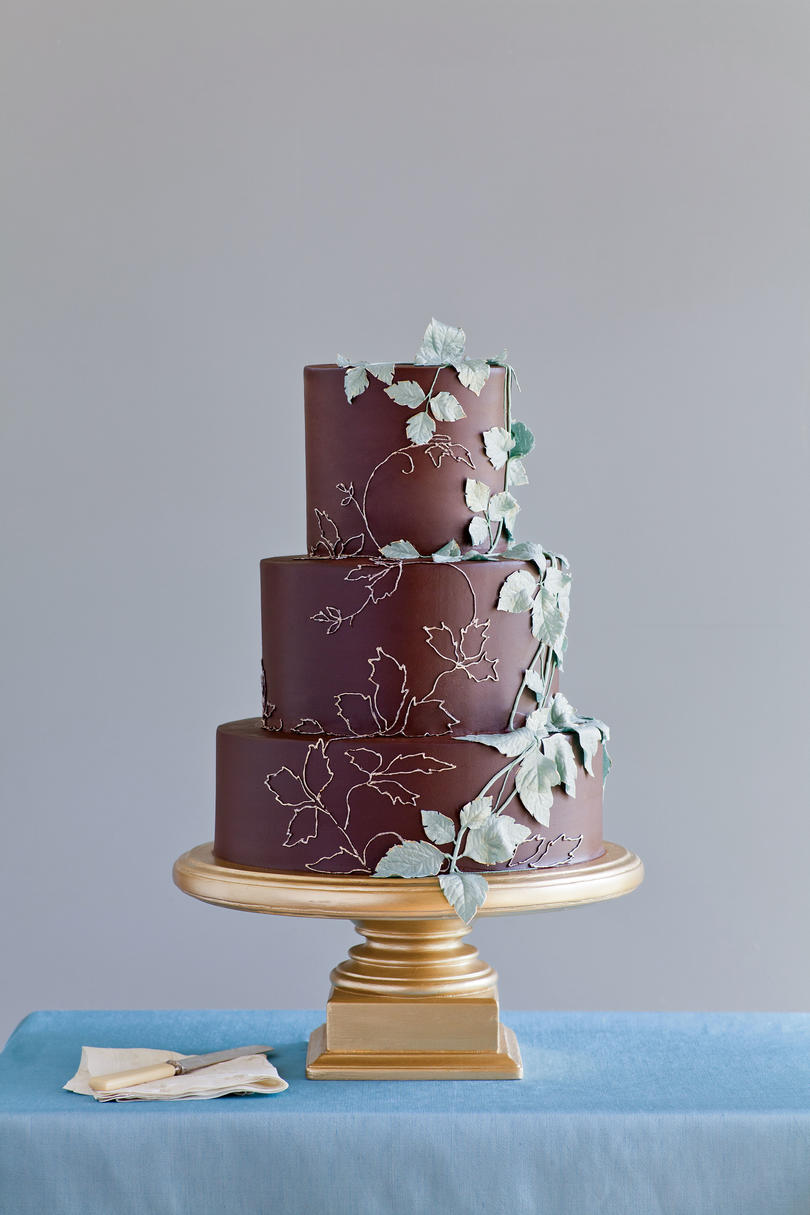 Gold Standard Wedding Cake