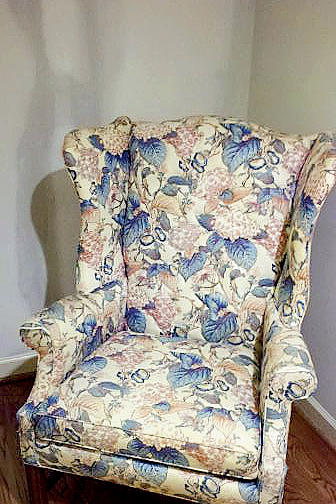 Classic Armchair Before