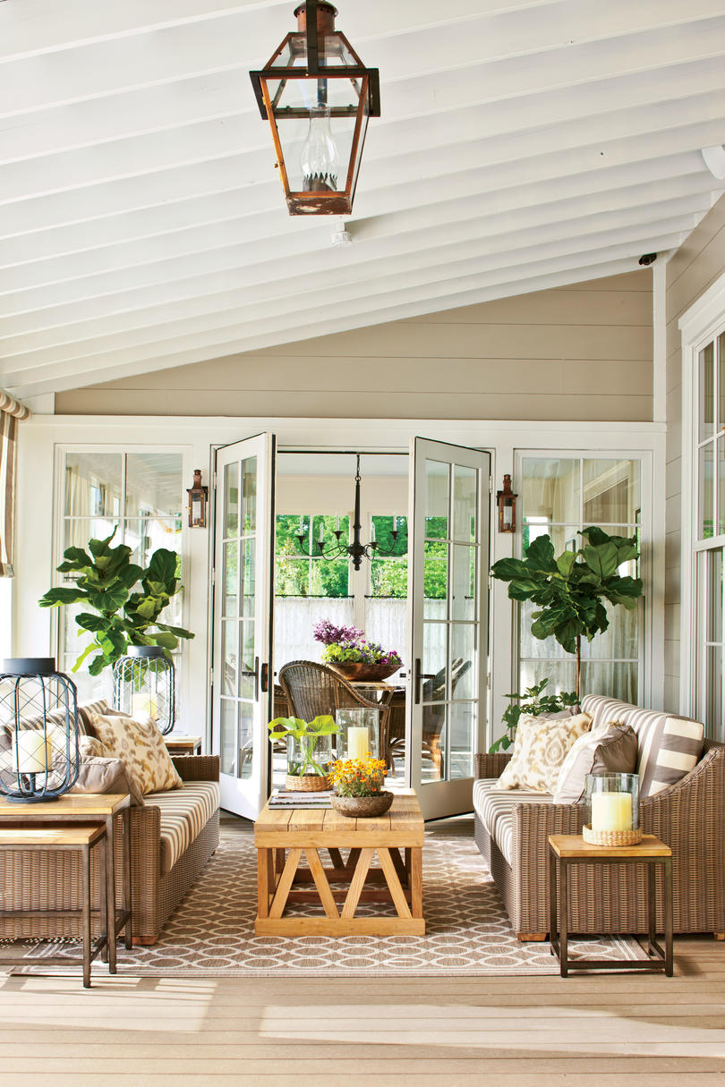 Indoor Outdoor Fabric Ideas - Southern Living on Southern Outdoor Living id=78870