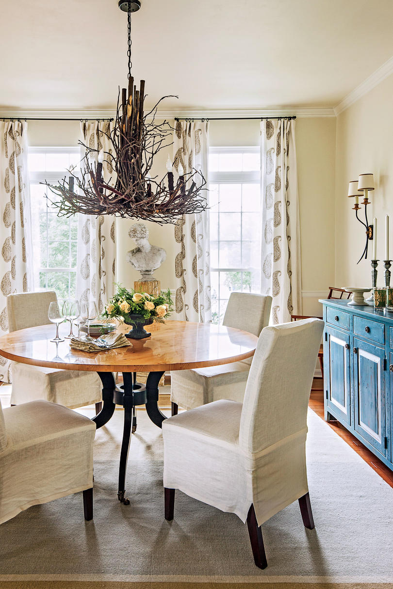 After: Organic Modern Dining Room