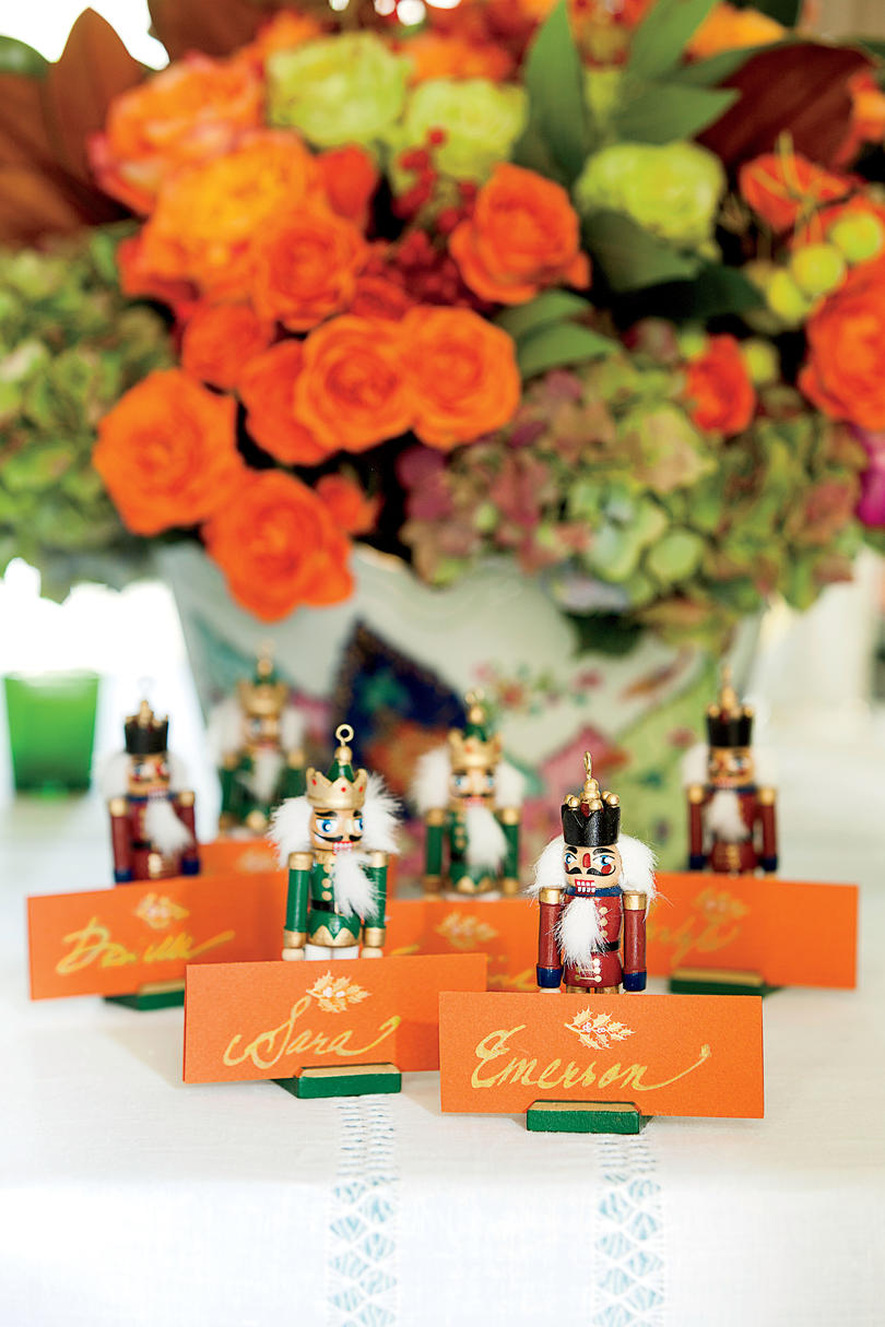 Get Festive With Place Card Holders