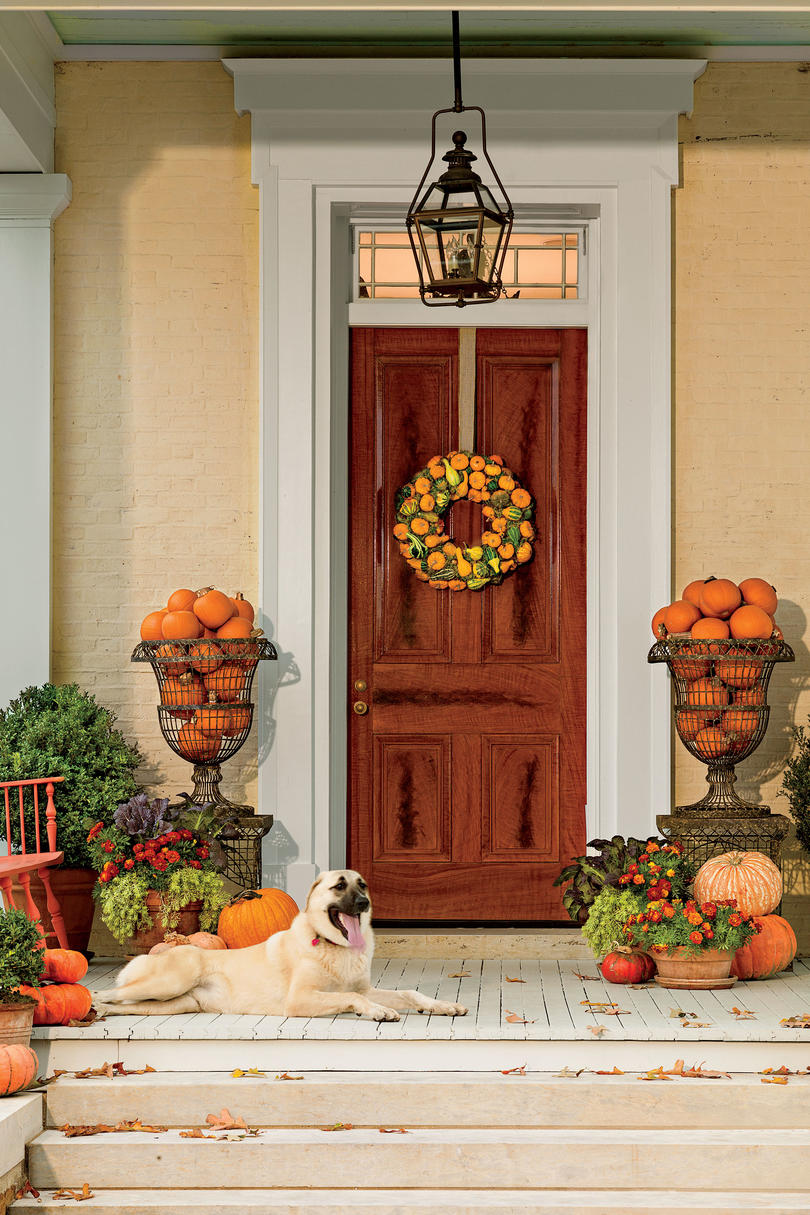 Lighted outdoor thanksgiving decorations - Southern Classic
