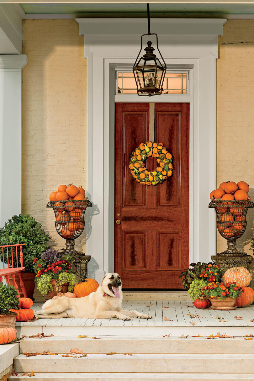 Front Porches That Have Us So Ready for Fall - Southern Living