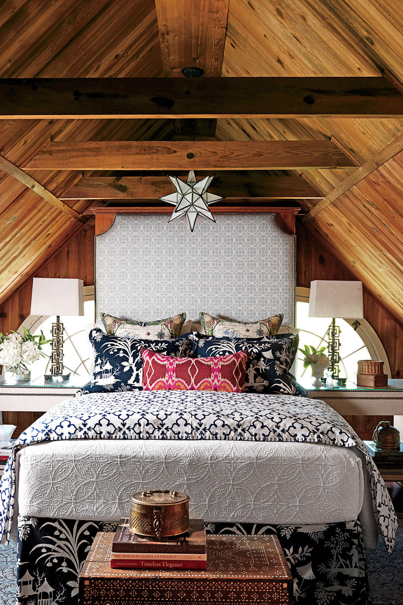 inviting upholstered headboards southern living eclectic bohemian headboard